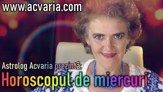⭐Astrolog ACVARIA - HOROSCOPUL DE MIERCURI 25.11.2020 ⭐ In timeline: zodia natala & ascendenta