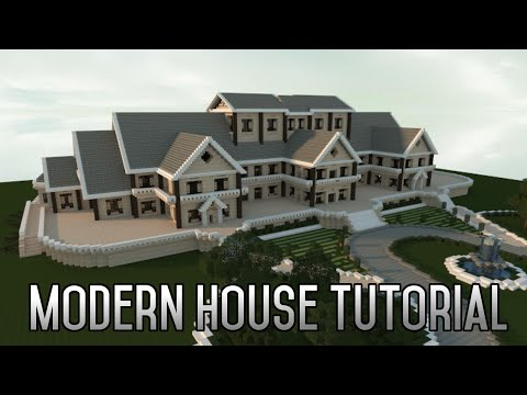 Minecraft Insane Modern House Tutorial Part 1 Xbox/PC 2015