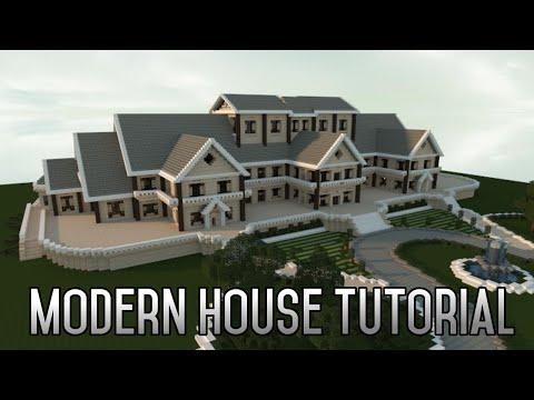 Minecraft Insane Modern House Tutorial Part 1 Xbox/PC 2015