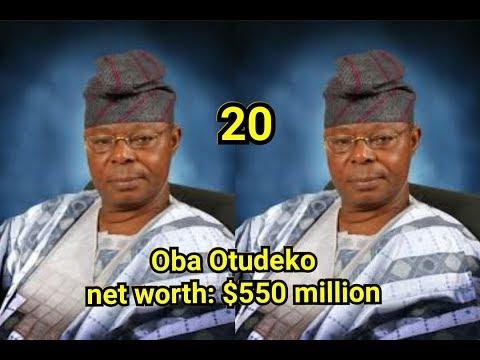 Top 20 richest man in Nigeria with their net worth latest 2018