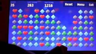 Nokia N97 recenze - 7. část - hra Matchem a aplikace Level - vodováha