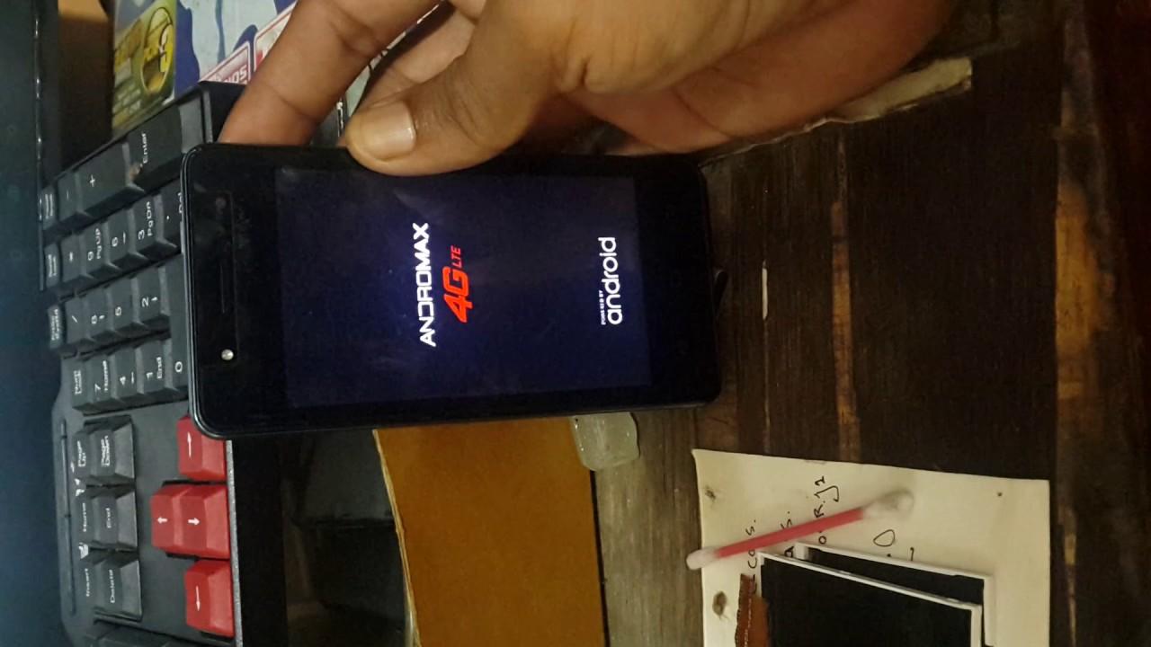 Cara flash andromax C46B2G bootloop