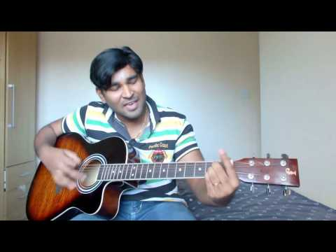 Mazhai Vara Pogudhae Guitar Cover with Chords & Lyrics by Srini