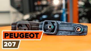 Installation af Motorophæng dig selv videoinstruktion på PEUGEOT 207