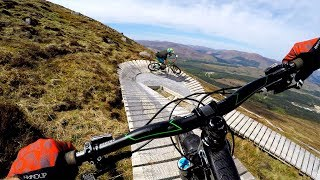 The butt-puckering boardwalks of Ft. Bill | Mountain biking Top Chief at Fort William