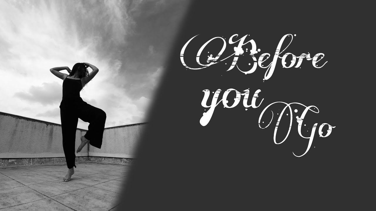 Before You Go-  Lewis Capaldi | lyrical jazz | Priti Puri