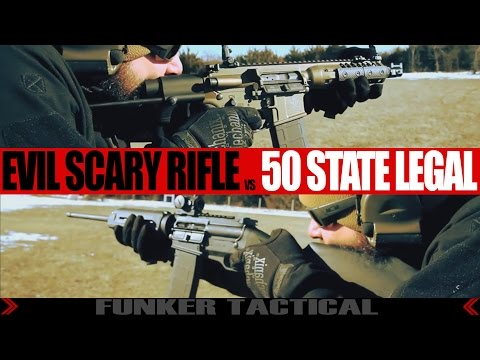 Evil Assault Rifle vs 50 State Legal   Why Gun Control Laws Are Dumb