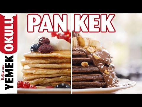 Pankek (Pancake) Tarifi 🥞| Çikolatalı ve Sadece Pankek Yapımı Tarifleri