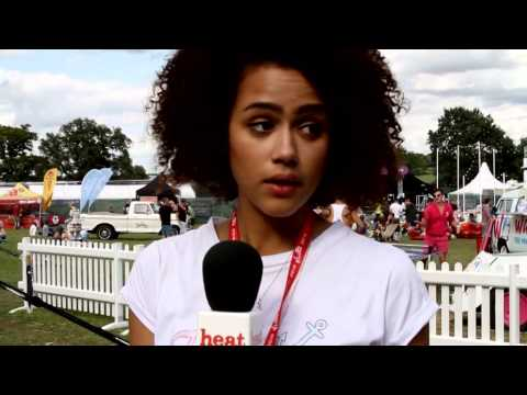Nathalie Emmanuel: Welly Of Truth - V Festival