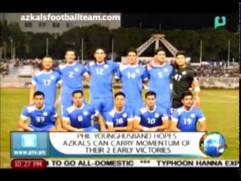Champions: Phil Younghusband hopes Azkals can carry momentum of their 2 early victories
