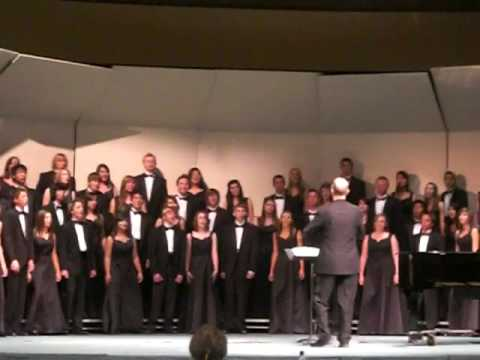 "Bonita High School Concert Choir sings ""O Sifuni Mungu"""