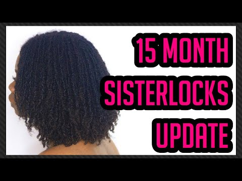 15 month Sisterlocks UPDATE plus LOC LINT TINT final thoughts | Drknlvely