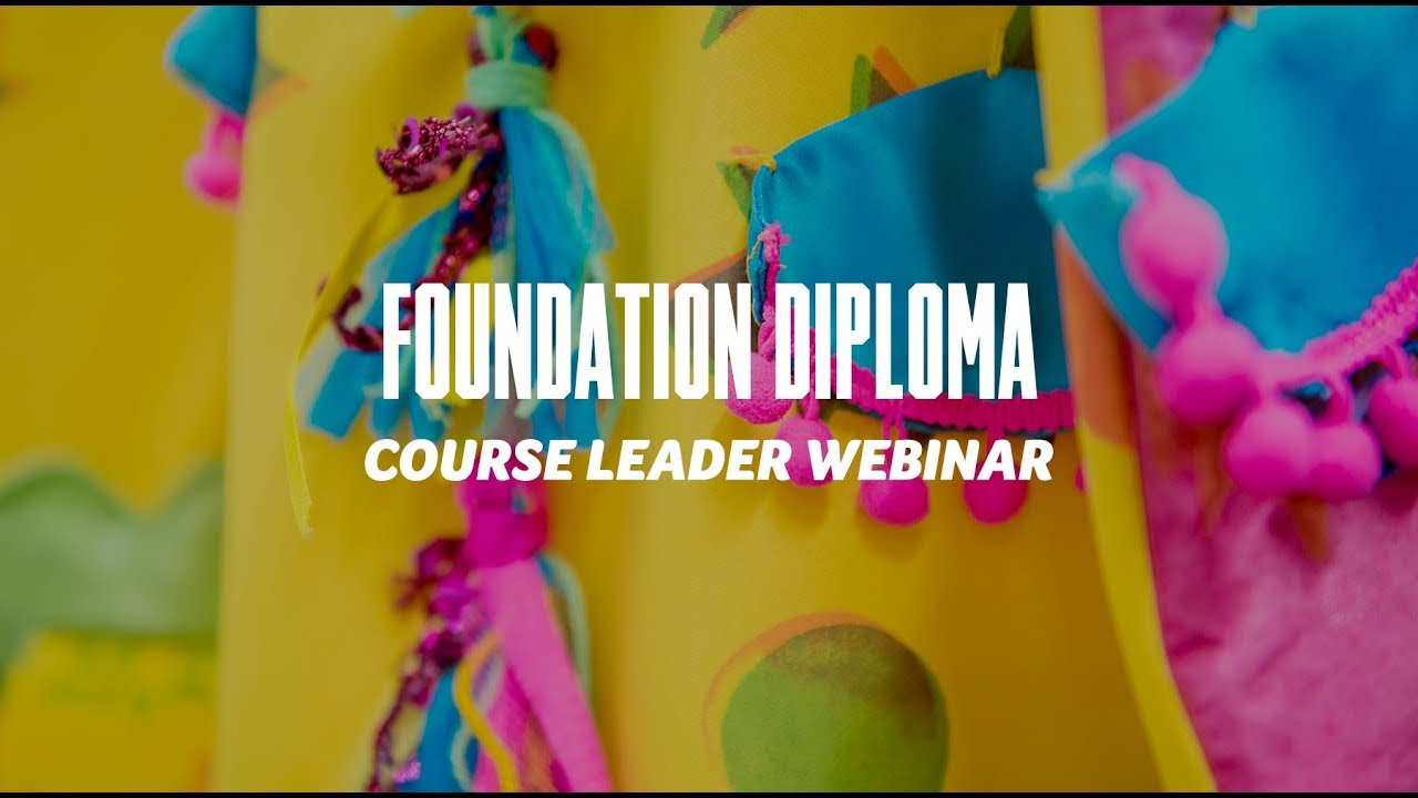 Course Webinar - Foundation Diploma