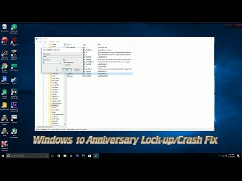 Windows 10 Lock-Up/Crash FIX [2018]