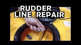 Hobie Rudder Line Repair
