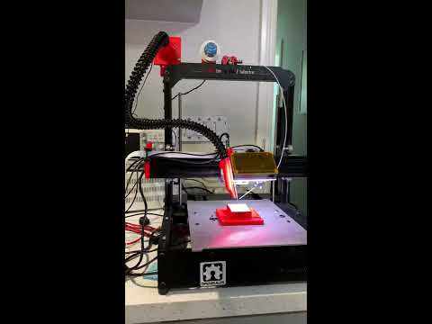 Soldering Machine V2 - fume exhaust test