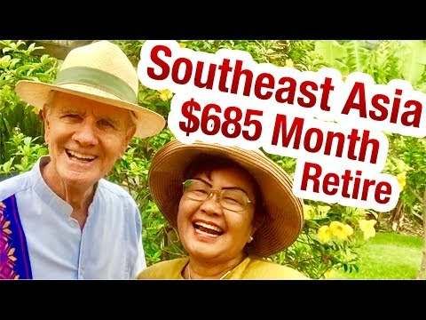 Retire Early South East Asia $600 A MONTH Retiring & Cambodia Has Beautiful girl