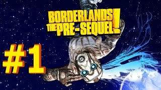 BORDERLANDS: THE PRE-SEQUEL! Walkthrough Part 1▐ Handsome Jack The Hero