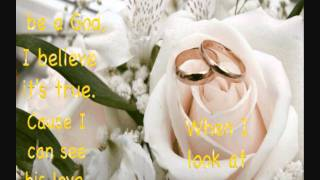 ♪. When I Say I Do - Matthew West ( Lyrics In Description)