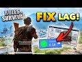 How to FIX LAG in Rules of Survival! (MAX FPS Tips and Tricks)