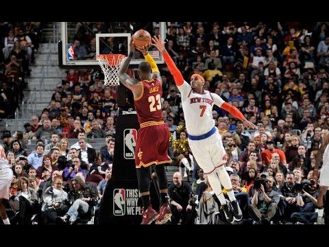 LeBron James Puts Up 18/13/15 vs. the Knicks | 02.23.17