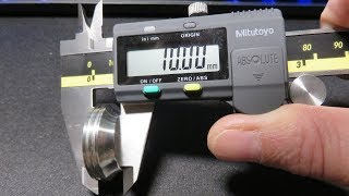 MITUTOYO Absolute AOS Digimatic Caliper : Unboxing (EN) & Tests (FR)