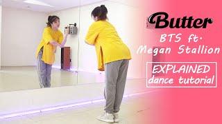 BTS (방탄소년단) 'Butter (feat. Megan Thee Stallion)' Dance Tutor…