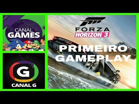 FORZA HORIZON 3 - PRIMEIRO GAMEPLAY - CANAL G