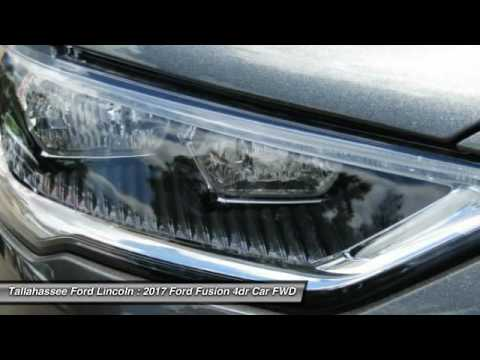 2017 Ford Fusion Tallahassee FL 347231