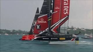 America's Cup Racing Action, June 10 2017