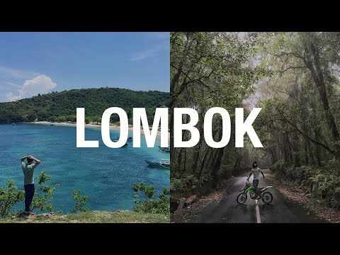 Lombok Motorbike Adventure (IN A CRAZY RAINSTORM)