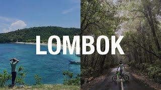 Lombok Motorbike Adventure (IN A CRAZY RAINSTORM)