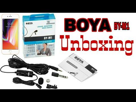 Boya mic unboxing ! Mobile mic, Computer mic, Laptop mic, DSLR mic, Shopping boya mic