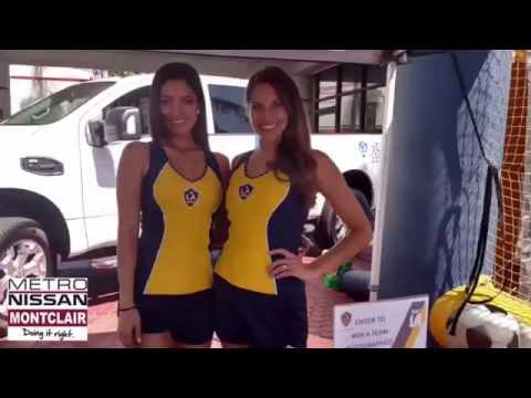 Perfect LA Galaxy Star Squad At Metro Nissan Of Montclair 7/2/16   YouTube