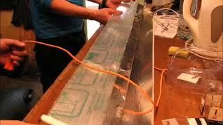 видео Светильники встраиваемые в крышку аквариума