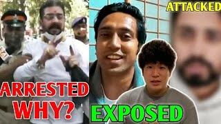Hindustani Bhau ARRESTED?! WHY? | Namaste Kohei EXPOSED!, YouTuber ATTACKED!, R2h Vs BB, Niko |