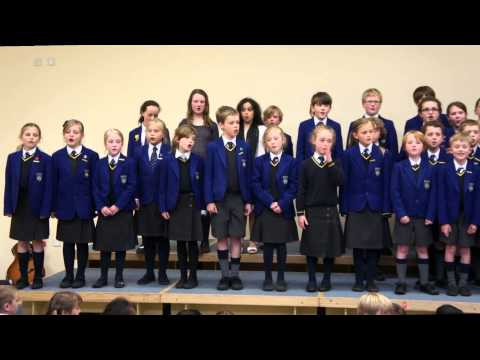 The Junior School choir sing The Chocolate Song