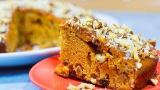 Рецепт простого пирога с орехами и изюмом | Самый простой пирог | Как приготовить пирог