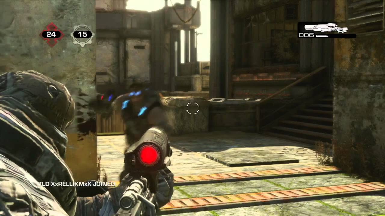 NO SNIPER DEATHS?! Gears of War 3 OSOK on Anvil! (Live Commentary)
