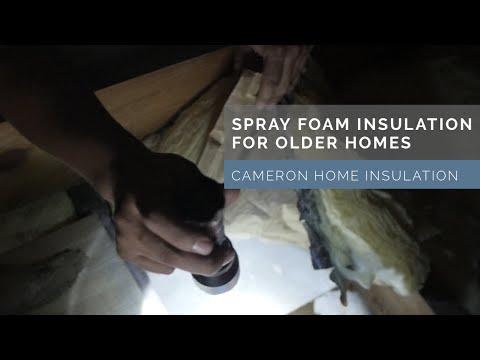 Spray Foam Insulation Contractors in the DMV | Cameron Home