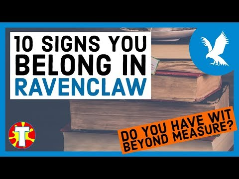 10 Signs You Belong In Ravenclaw | Harry Potter House Quiz