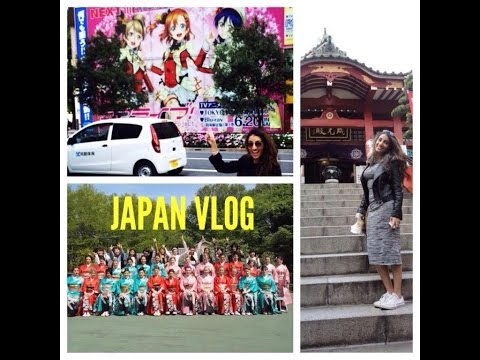 VLOG: TRIP TO JAPAN-TOKYO! | AnchalMUA