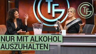 Ein Glas Champagner mit Sylvie Meis und Lilly Becker