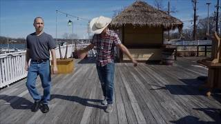Thomas Rhett - Look What God Gave Her - God's Gift Line Dance Video