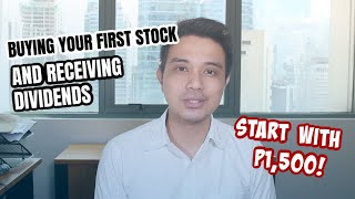 Buying your first st๐ck and receiving dividends!