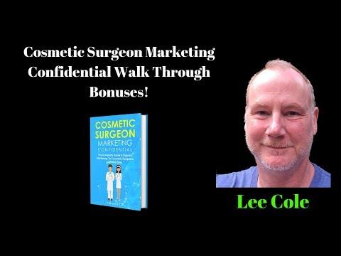 Cosmetic Surgeon Marketing Confidential Walk Through Bonuses