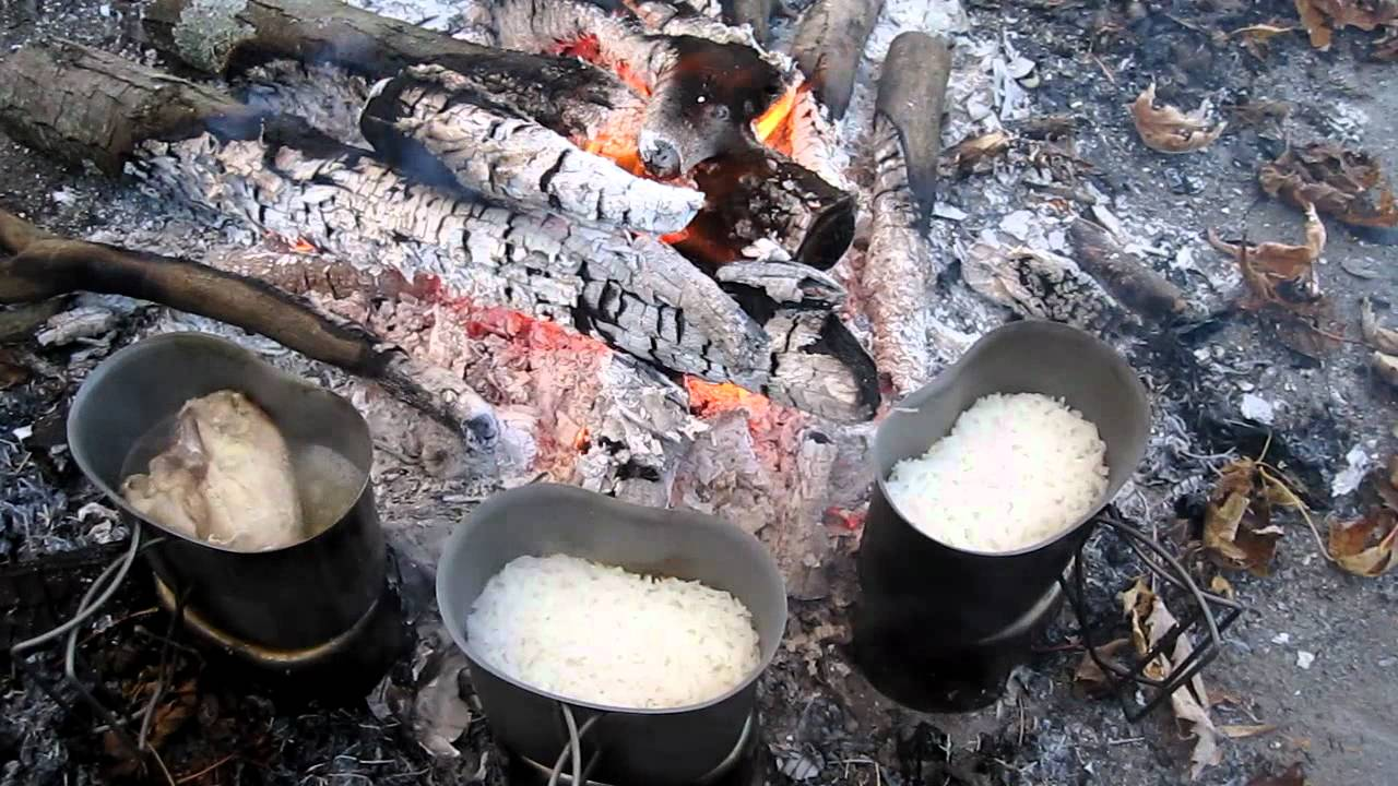 Canteen cup cooking lrrp part 3 chicken amp rice youtube