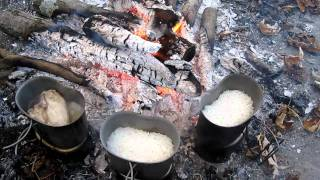 Canteen Cup Cooking (LRRP Part 3) Chicken & Rice