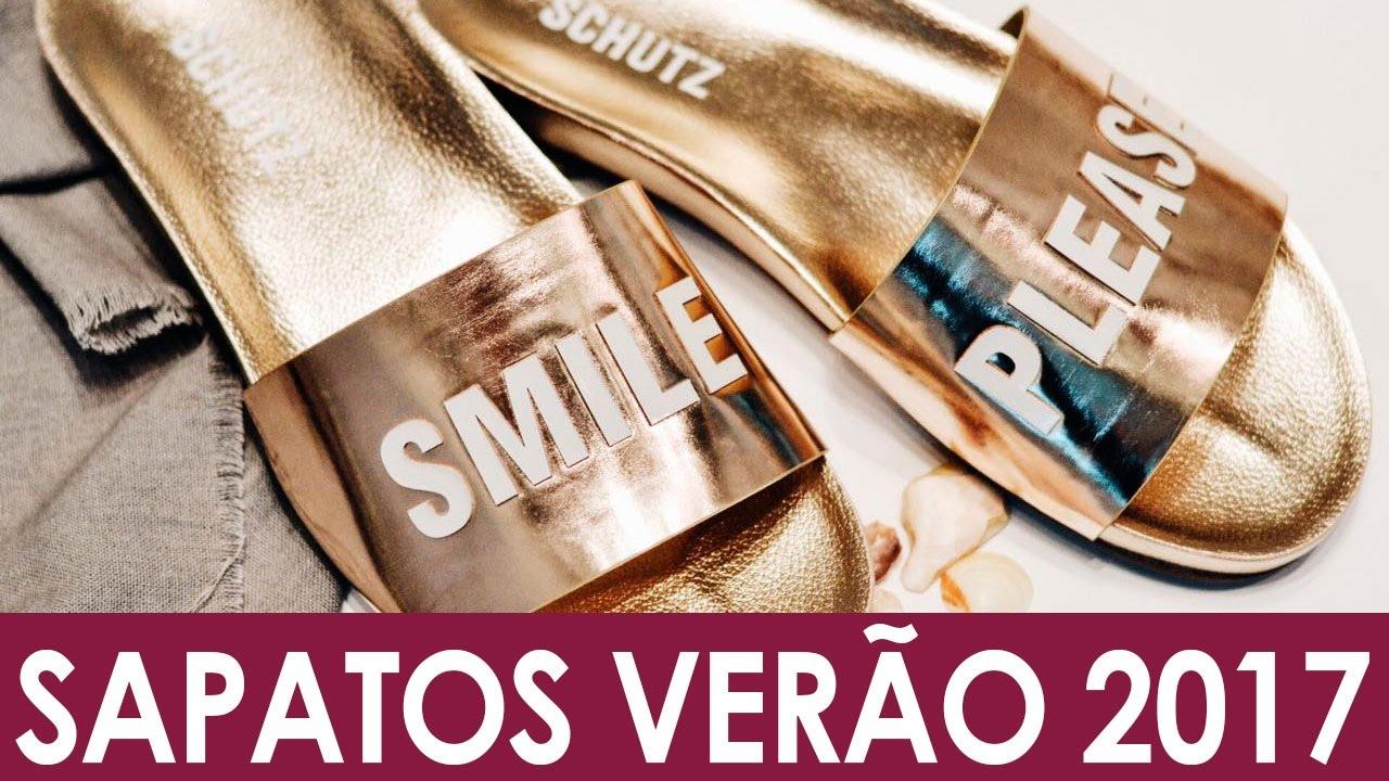 5ecd89e55d Coleção de Sapatos Femininos SCHUTZ - Verão 2017 - YouTube