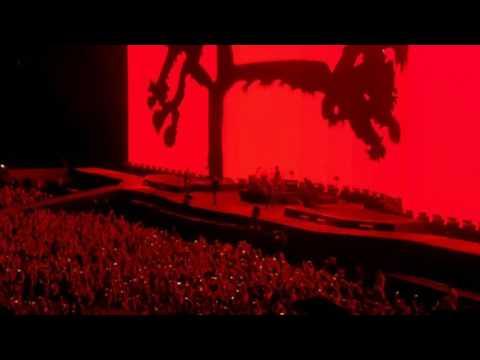 U2 live at Reliant stadium Houston